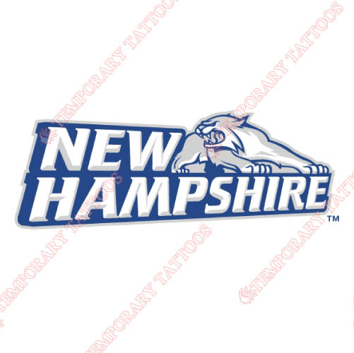 New Hampshire Wildcats Customize Temporary Tattoos Stickers NO.5406